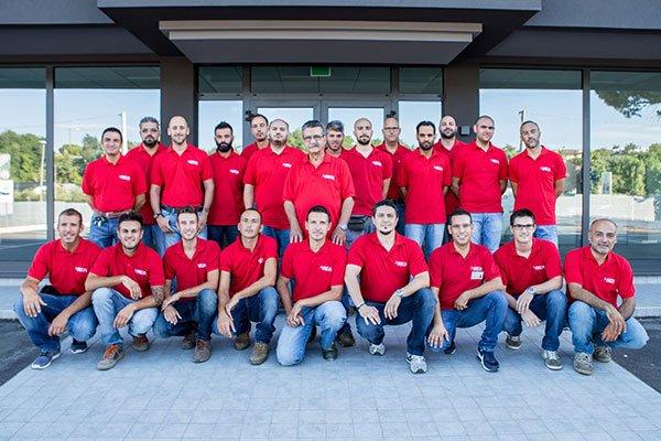 Il gruppo umano della compagnia