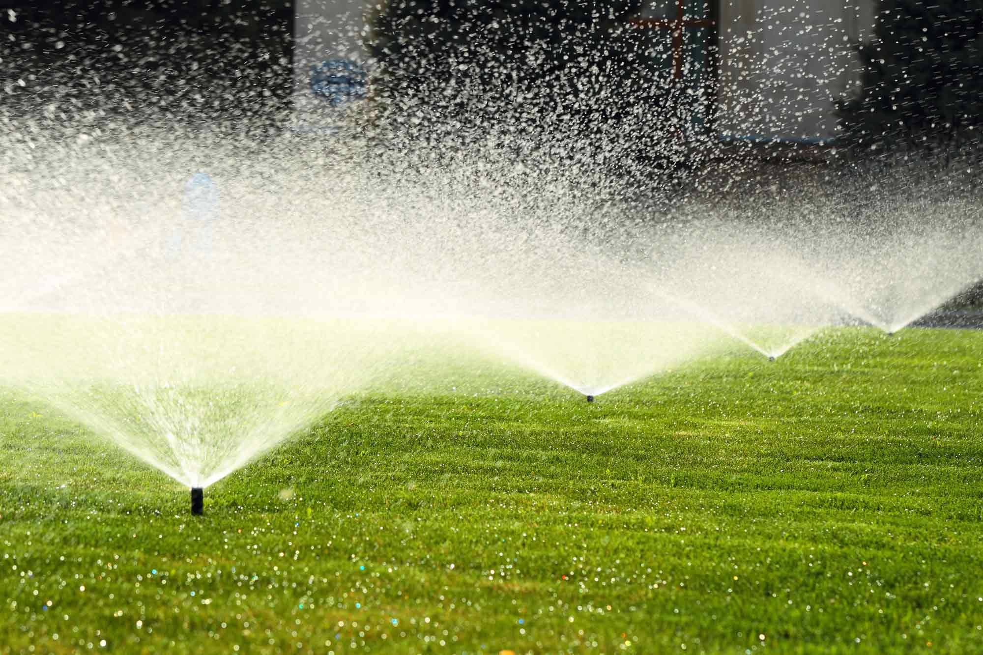 Sprinkler systems in Perth metro area