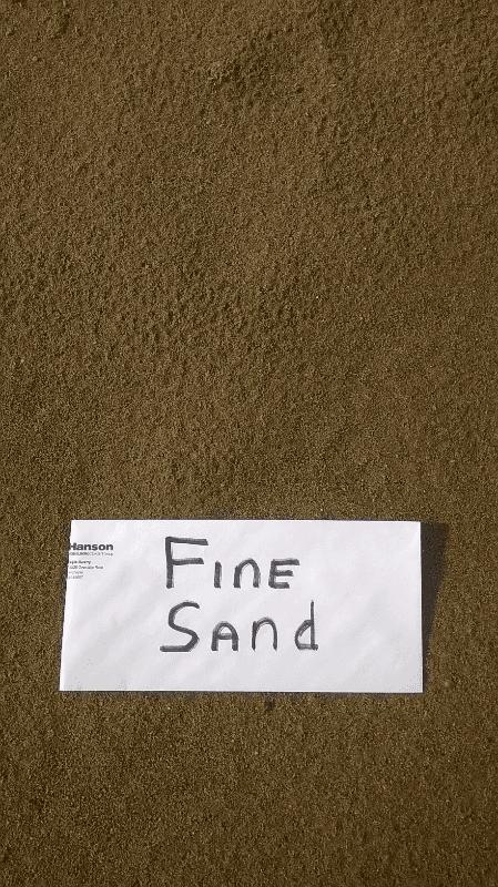 Fine Sand 1/16