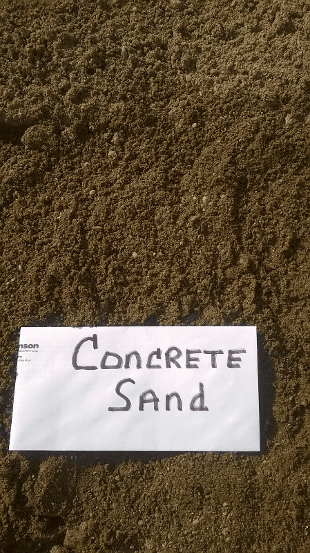 Concrete Sand 3/16