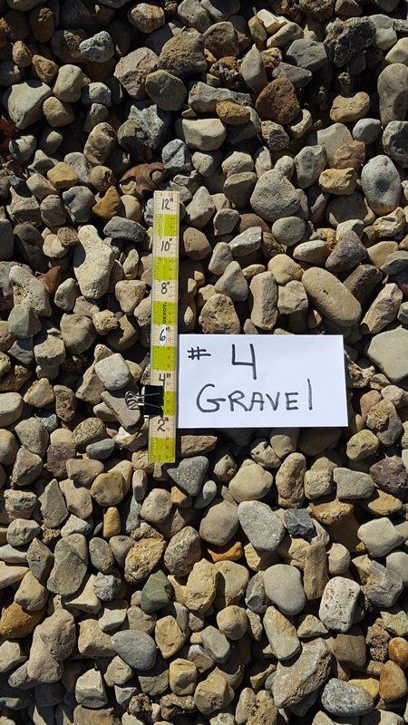 No. 4 Gravel 1 1/2