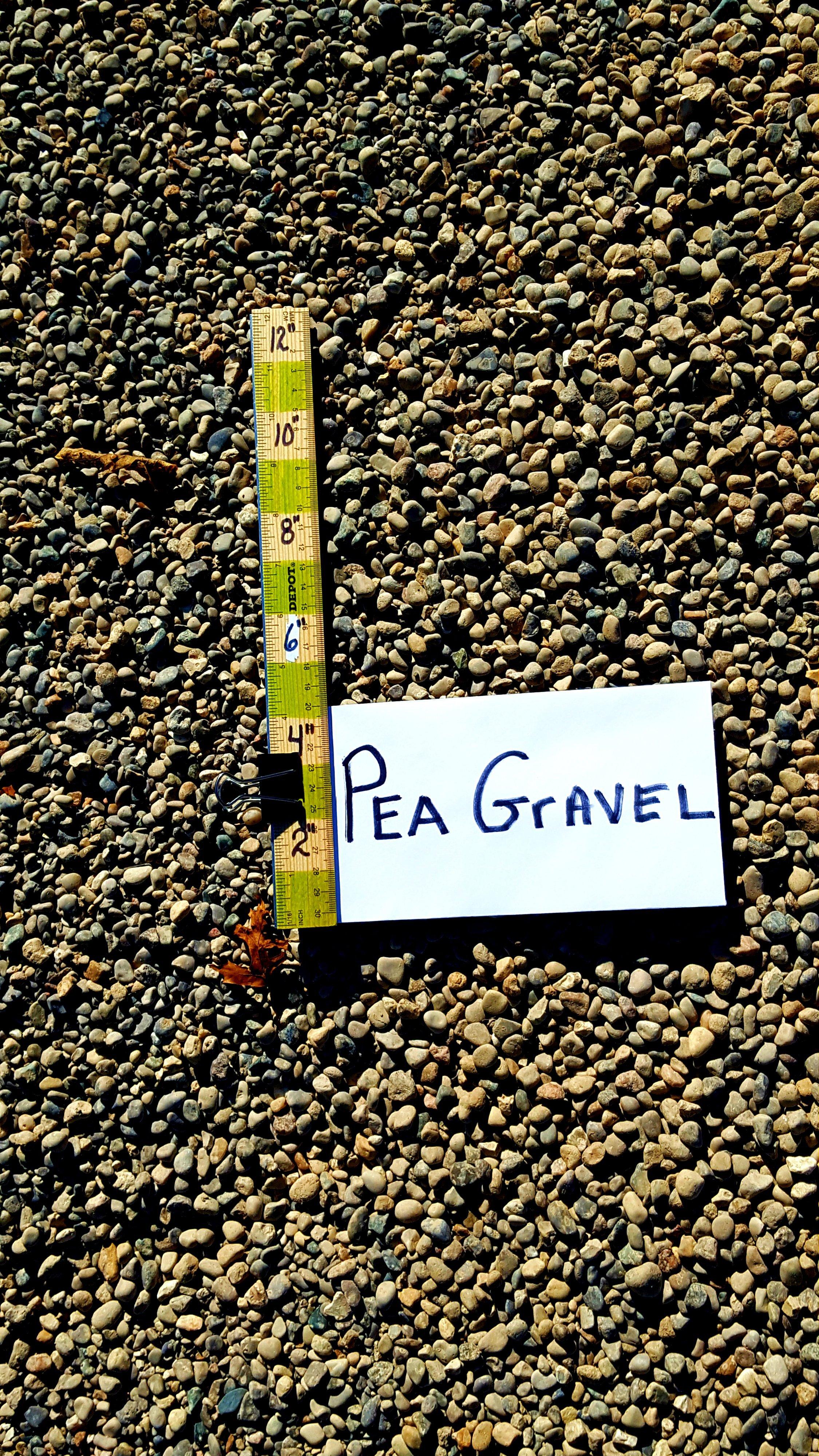 Pea Gravel 1/2