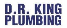 d r king plumbing logo