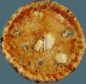 Pizza mit Gorgonzola - Wiesenheim