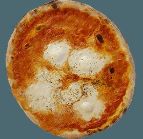 Pizza mit Büffel-Mozzarella - Wiesenheim