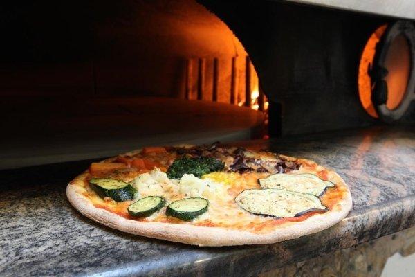 Pizza mit Gemüse - Wiesenheim