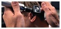 controllo dell'orecchio