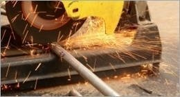 Lavorazione tubi in acciaio