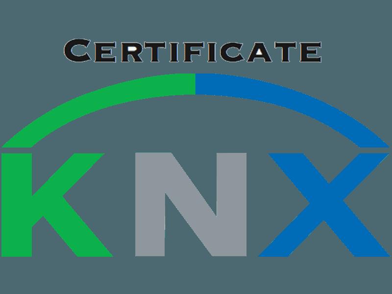konnex certificate