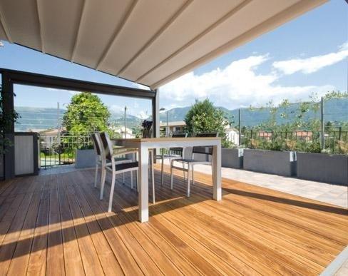 rivestimento legno terrazza