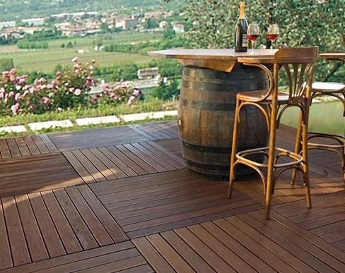 pavimento legno esterni