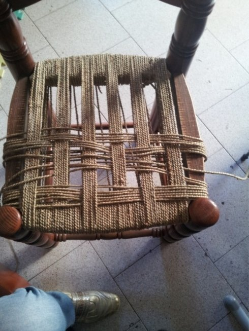 impagliatura sedie, sedie