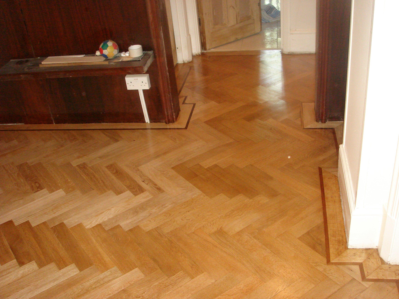1930s parquet floor design