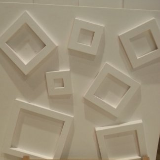 parete tridimensionale