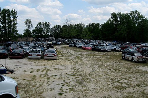 Auto Salvage Yards Greenville, NC