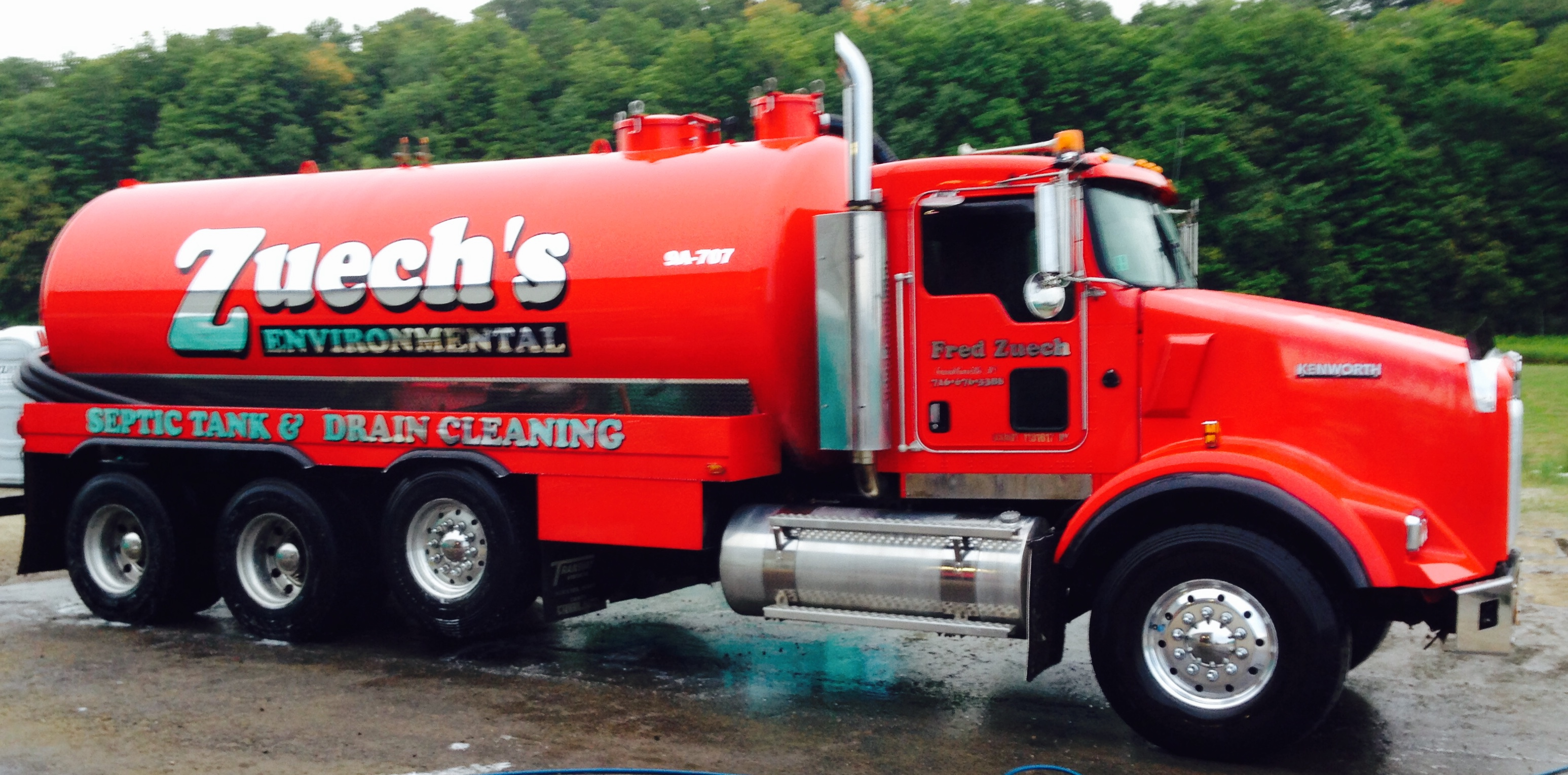 Septic Tank Pumping Olean, NY