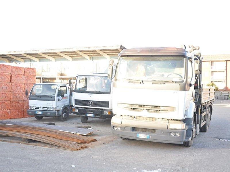 Consegna materiali edilizia