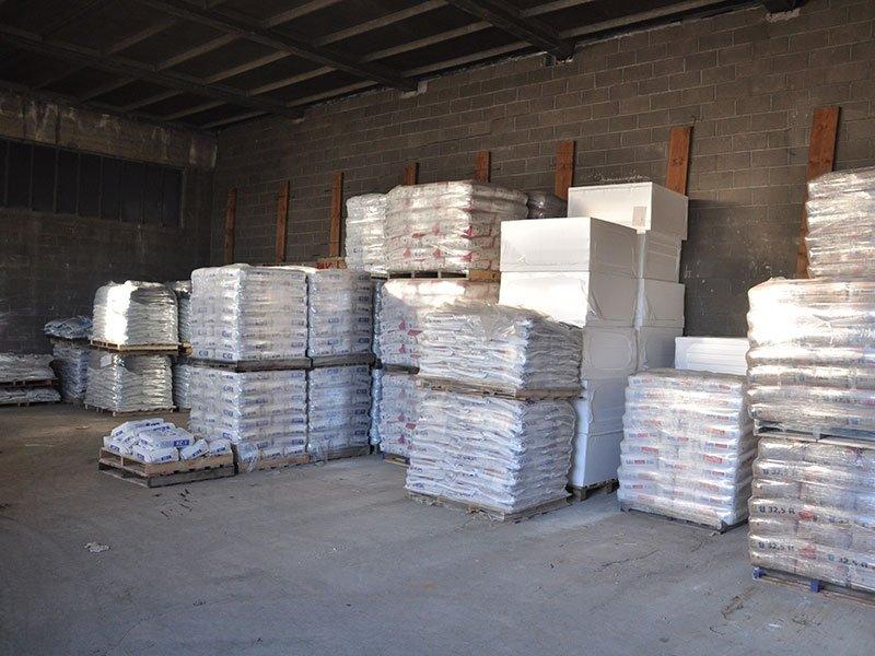 sacchi cemento edilizia