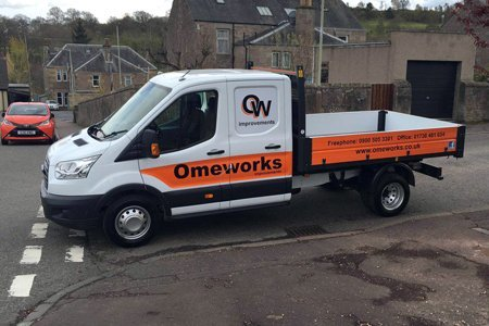 Omeworks pickup truck
