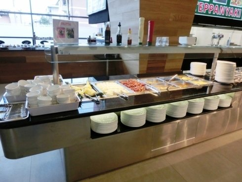 buffet,  cucina giapponese