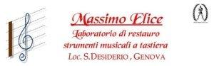 Massimo Elice Laboratorio di Restauro strumenti musicali Genova