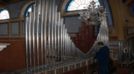 Elice Massimo, Genova (GE), restauro organi d'epoca