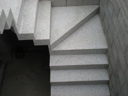 Scale per interni ed esterni in granito