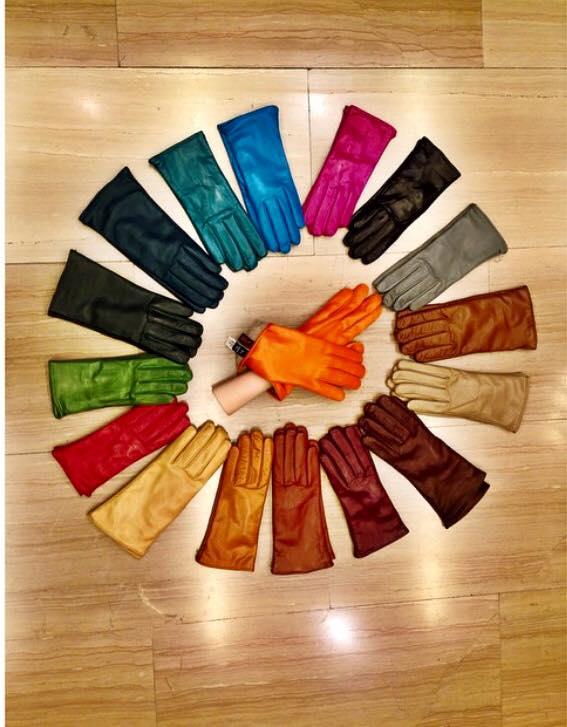 guanti in pile