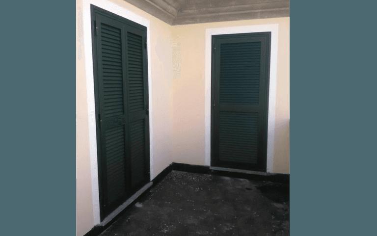 persiane per porta finestra, porte finestra,  produzione persiane, Ronciglione, Viterbo