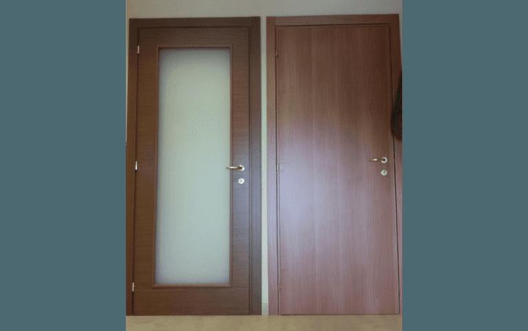 Porte e portoni blindati ronciglione viterbo d 39 orazi - Porte da interno con vetro ...