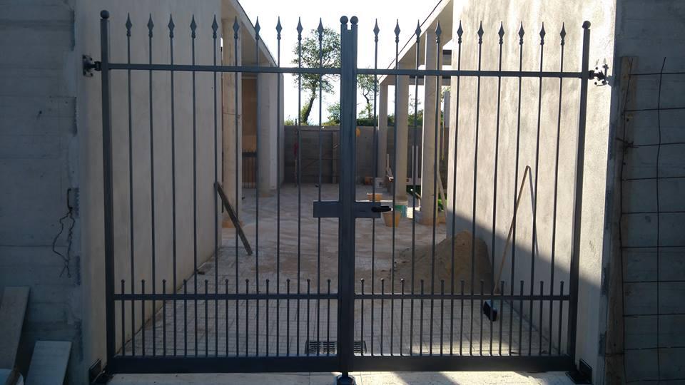 un cancello