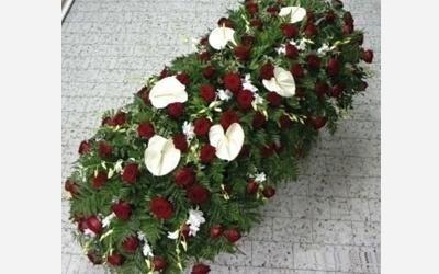 copribara rose rosse ovada