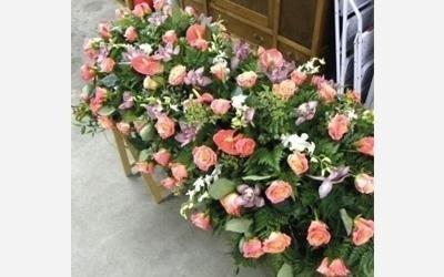 cuscino fiori freschi ovada