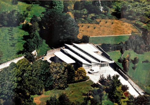 visuale aerea di un edificio