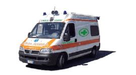 ambulanza, croce verde, servizi per funerali