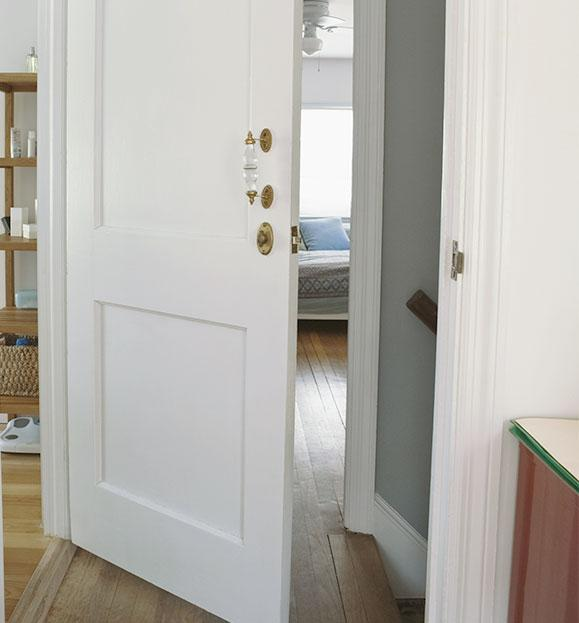 porta di PVC bianca