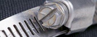 fascette di serraggio di plastica