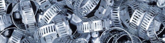fascette serratubo di acciaio