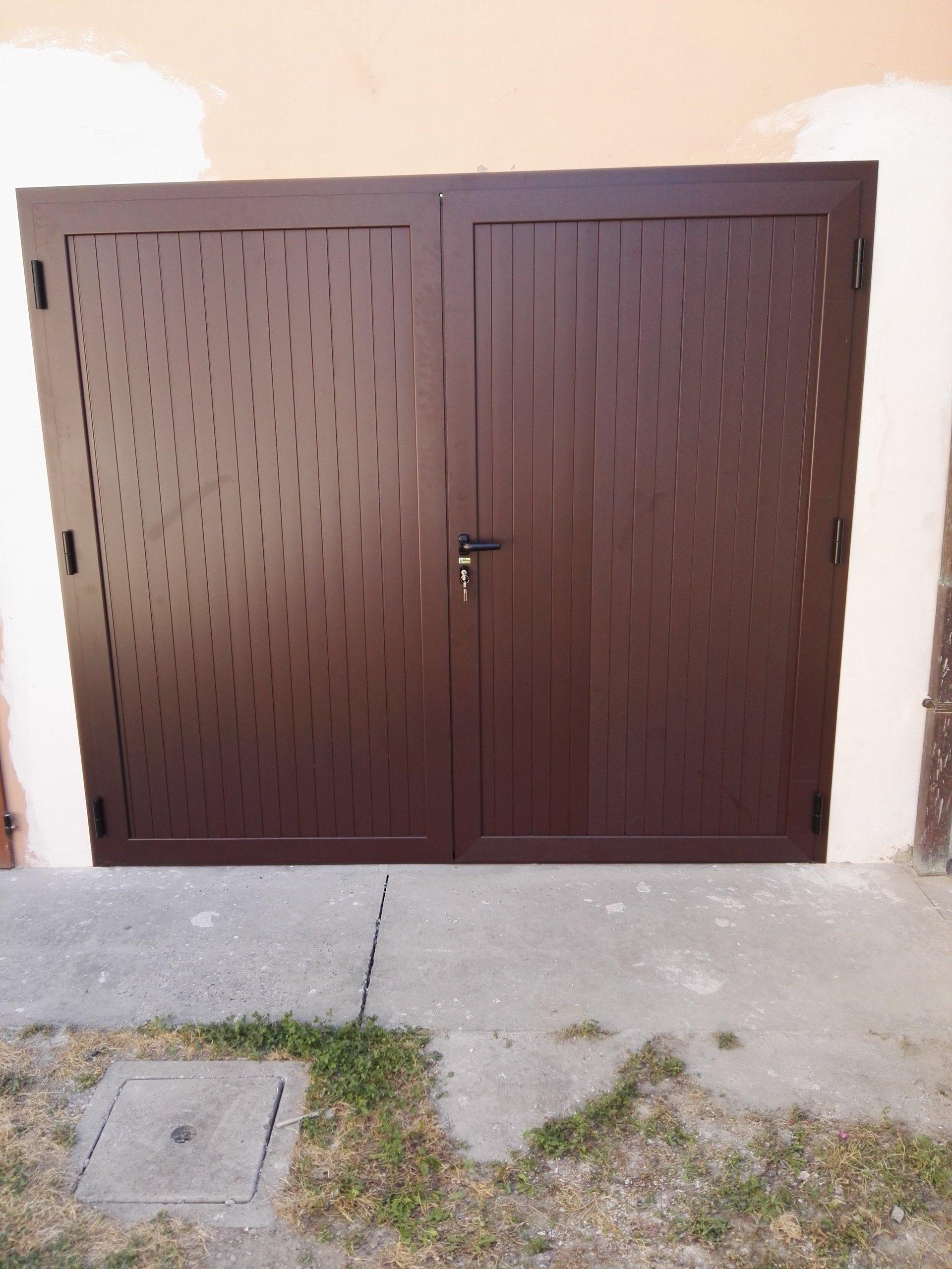 porta in alluminio
