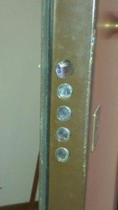 Ripristino di serratura per porta blindata