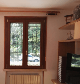 Finestre in pvc effetto legno rovere
