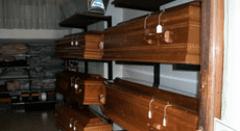 Onoranze funebri, casse funebri
