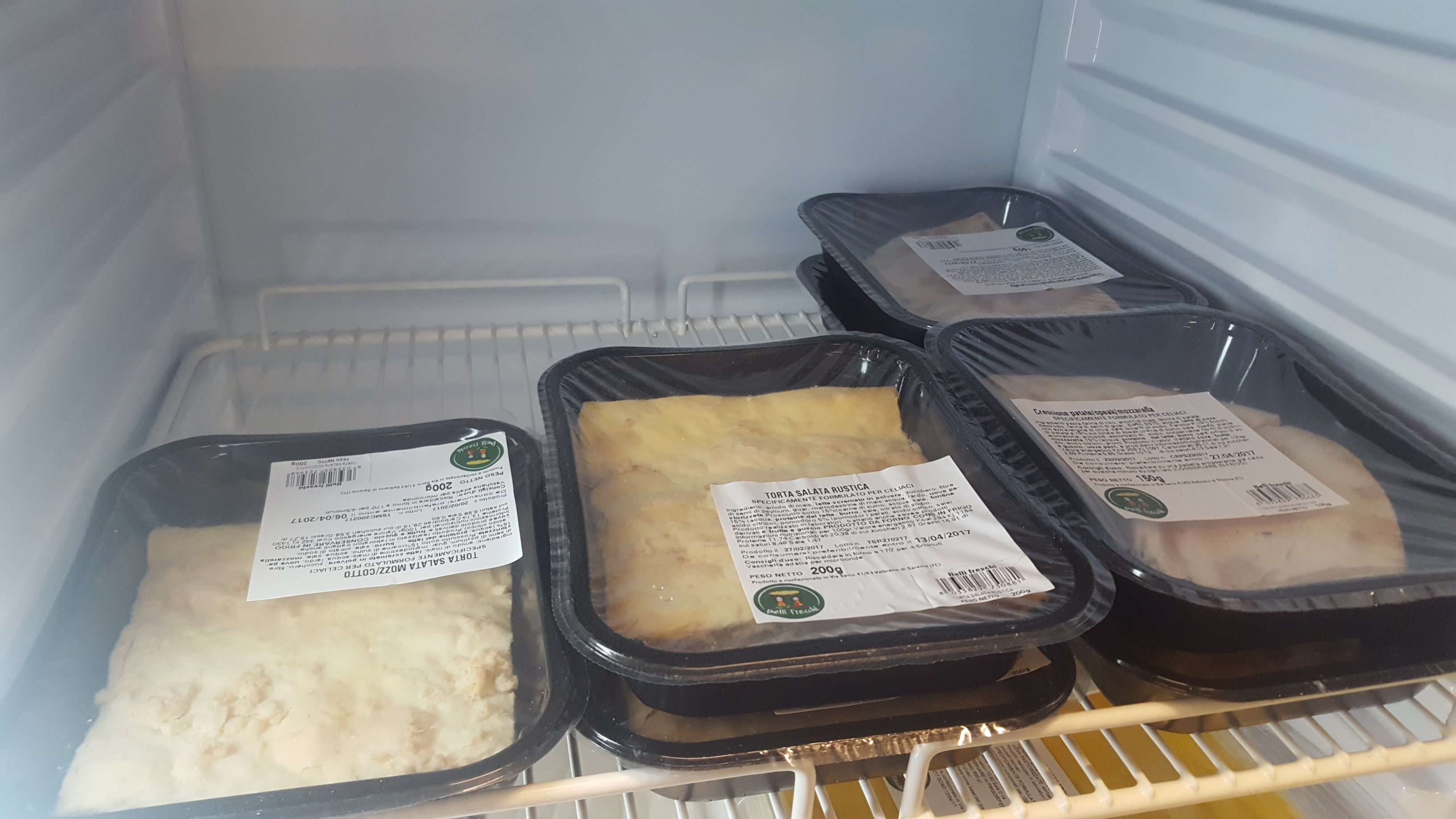 piatti pronti per celiaci