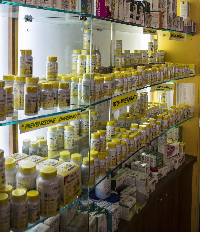 delle confezioni con medicine per prevenzione Inverno