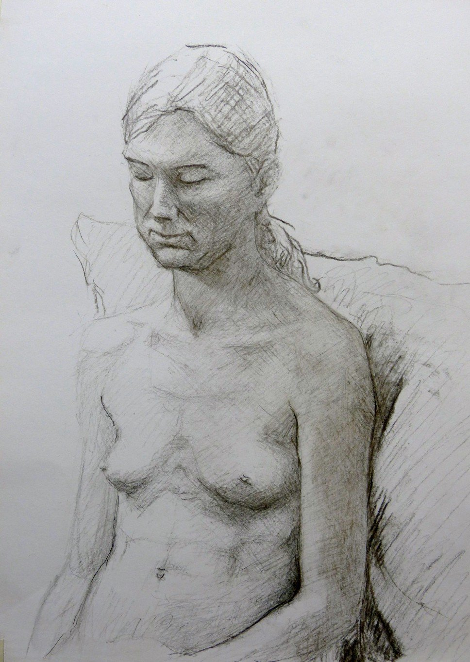 figure drawing, observational drawing, classical drawing