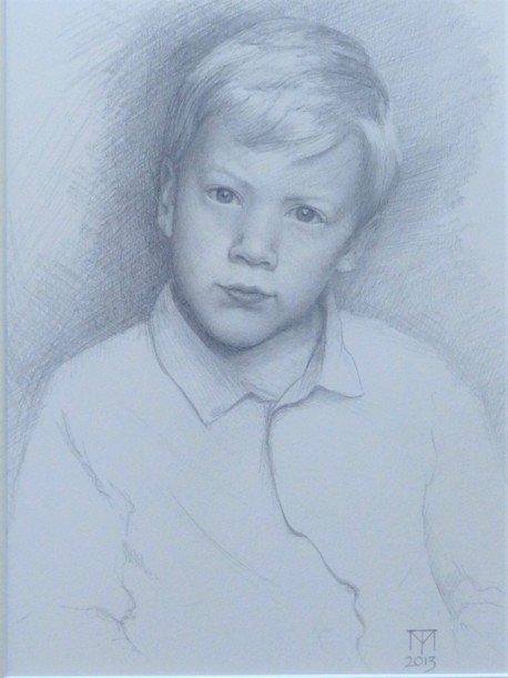 child portrait, pencil drawing, pencil portrait, portraiture