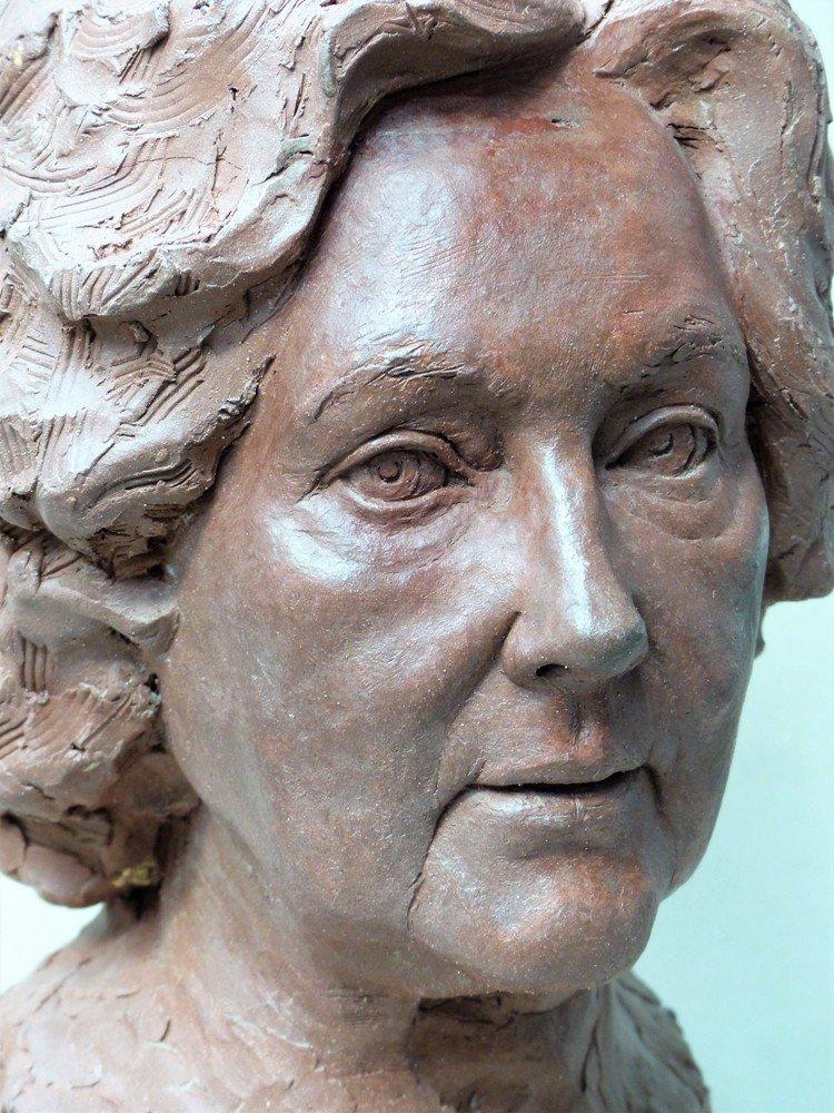 portrait sculptor, woman portrait, head sculpture, portrait sculpture, bust sculpture, portrait bust, bronze portrait, bronze head, ceramic sculpture