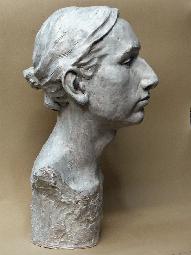 portrait sculptor, teenage portrait, young man portrait, child portrait, child sculpture, portrait sculpture, bust sculpture, portrait bust, bronze portrait, bronze head, plaster sculpture