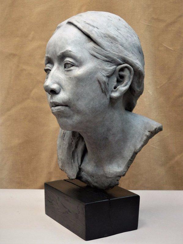 portrait sculpture, bust sculpture, portrait bust, bronze portrait, bronze head, portrait sculptor