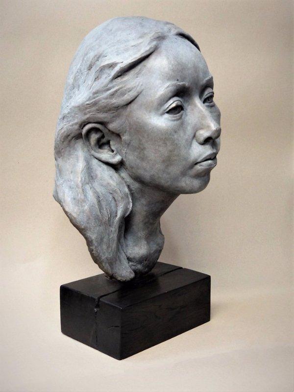 portrait sculptor, portrait sculpture, bust sculpture, portrait bust, bronze portrait, bronze head